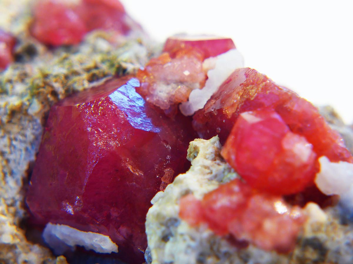 Garnet is an uplifting crystal.