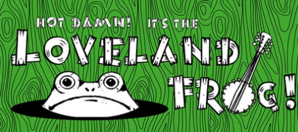 source so what is the loveland frog