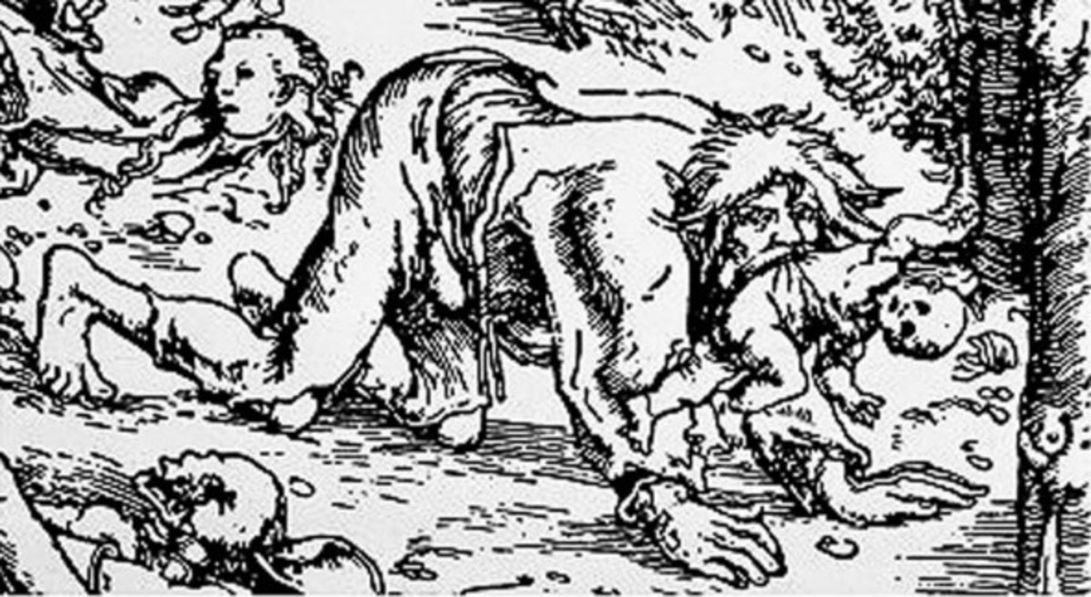 A depiction of Peter Stumpp.