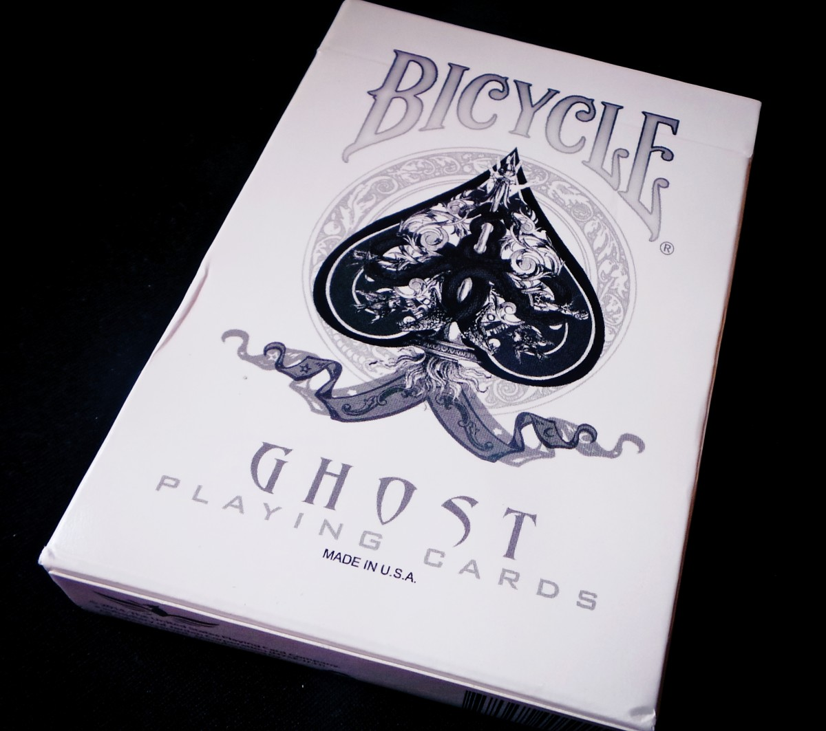 'Ghost' Playing Cards by Bicycle