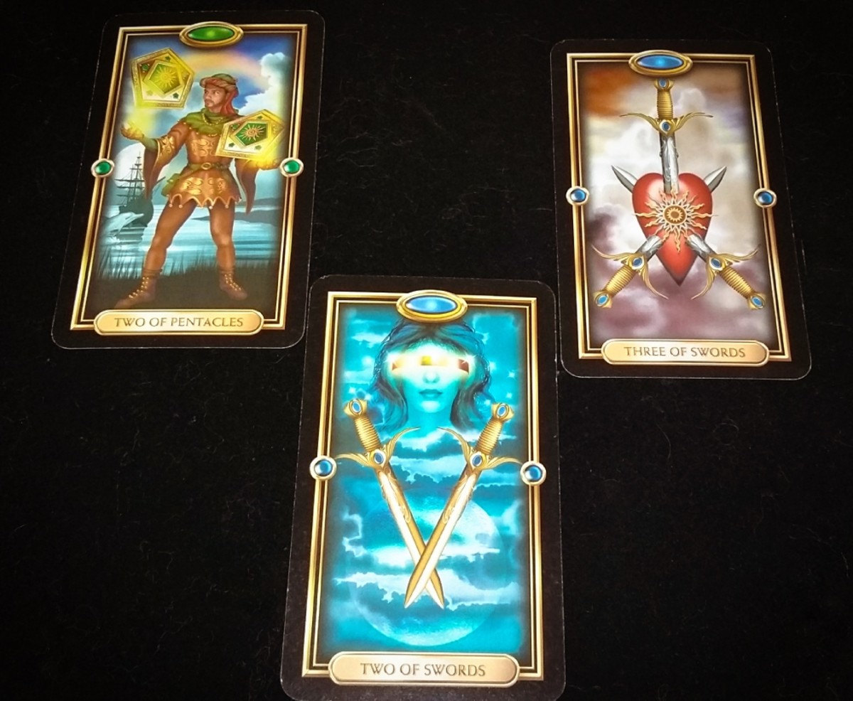 Tarot Love Spread #3