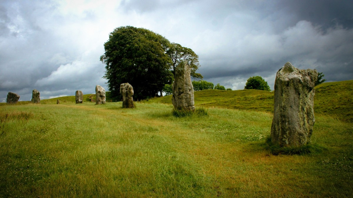 Avebury, England. Creative Commons.