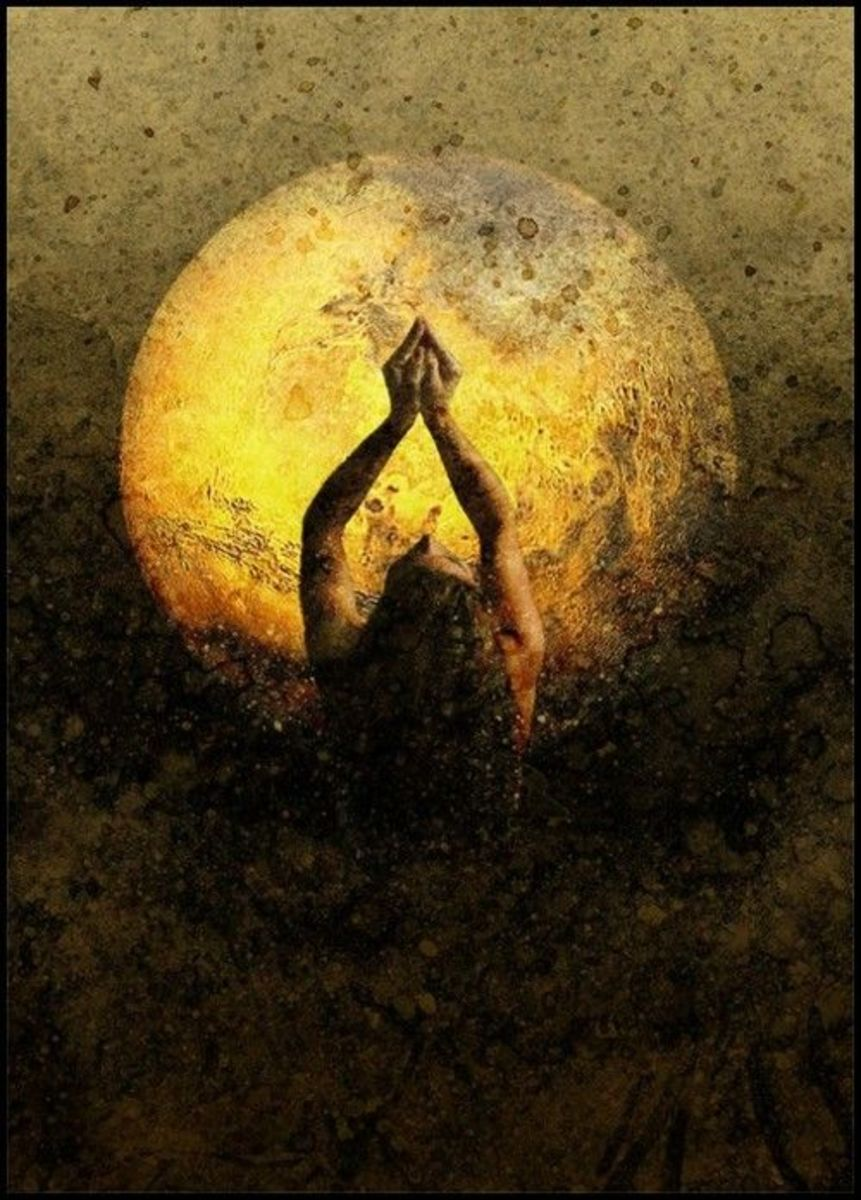 A  New Moon/Full Moon Gratitude Ritual