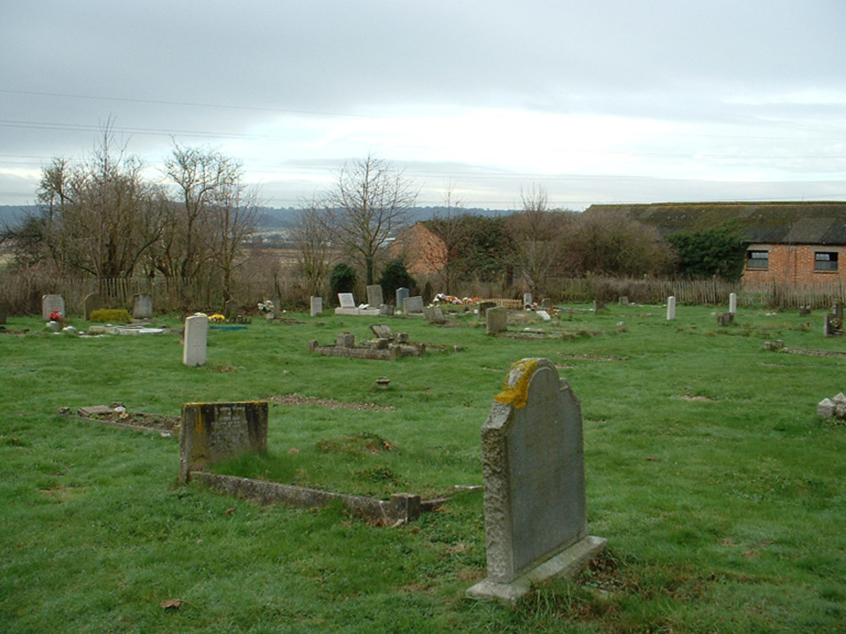 Burham Cemetery where Emily is buried