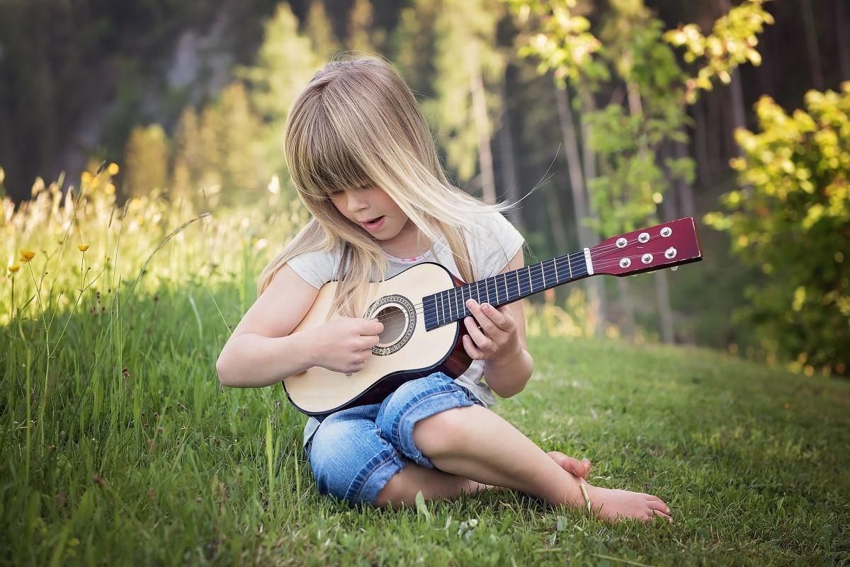 Crystal children are often musical