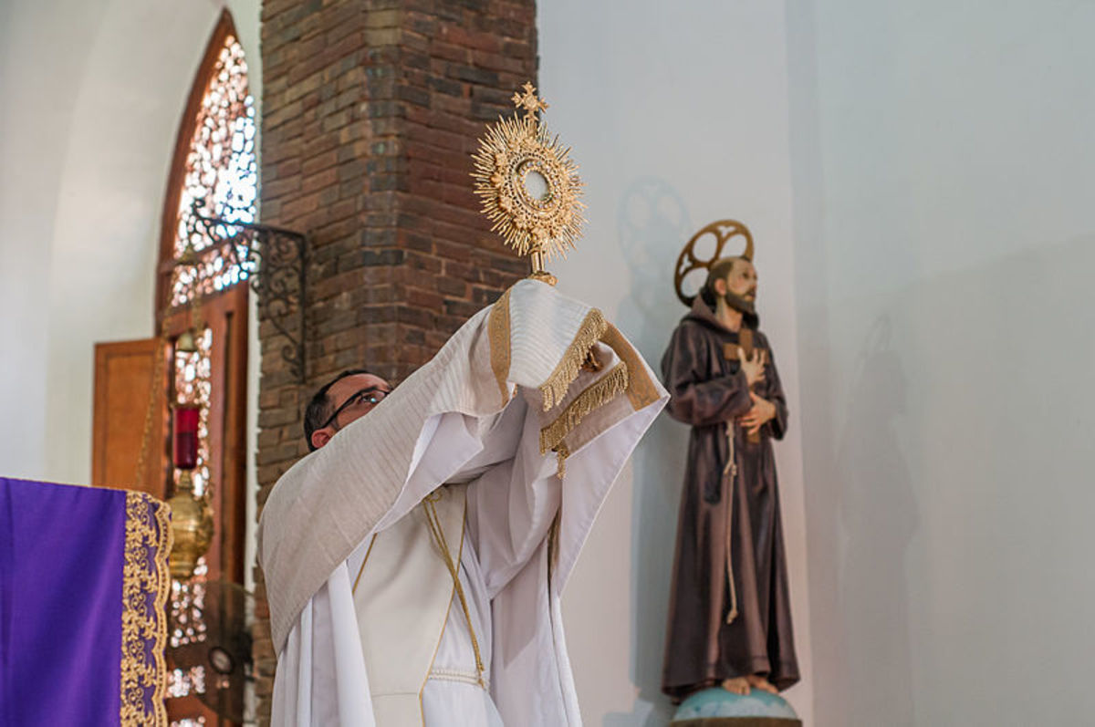 The Blessed Sacrament is Anathema to the Diabolically Possessed.