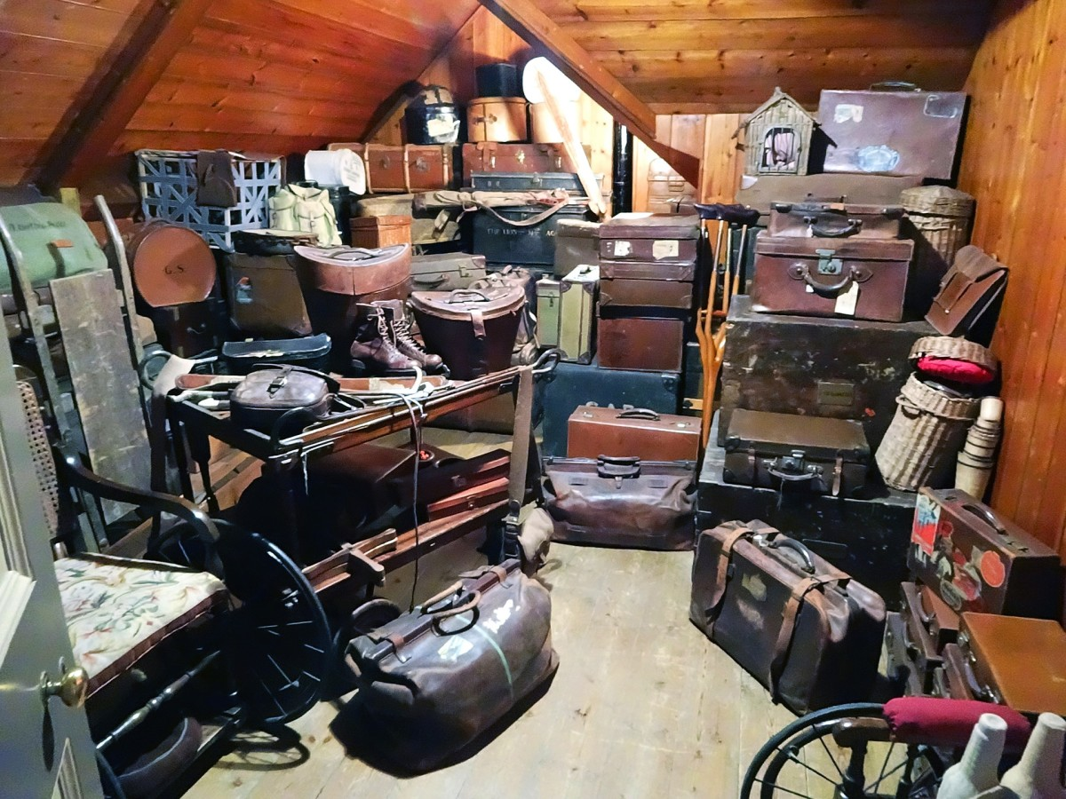 A cluttered attic in our dreams may reflect feeling overwhelmed and having many thoughts or ideas on our mind.  Clutter in general may show us that we are not processing or letting go of things and are, instead, storing and compartmentalizing.