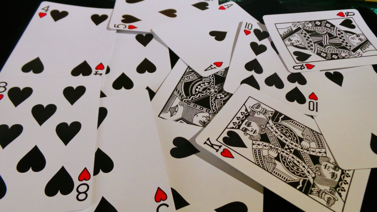 How to interpret hearts when using playing cards for tarot.