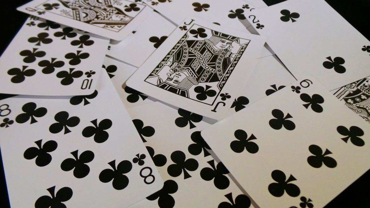 How to interpret clubs when using playing cards for tarot.