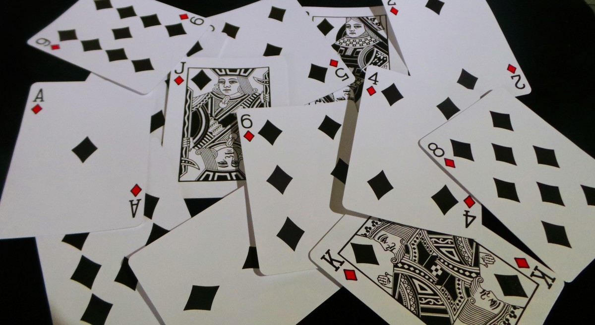 How to interpret diamonds when using playing cards for tarot.