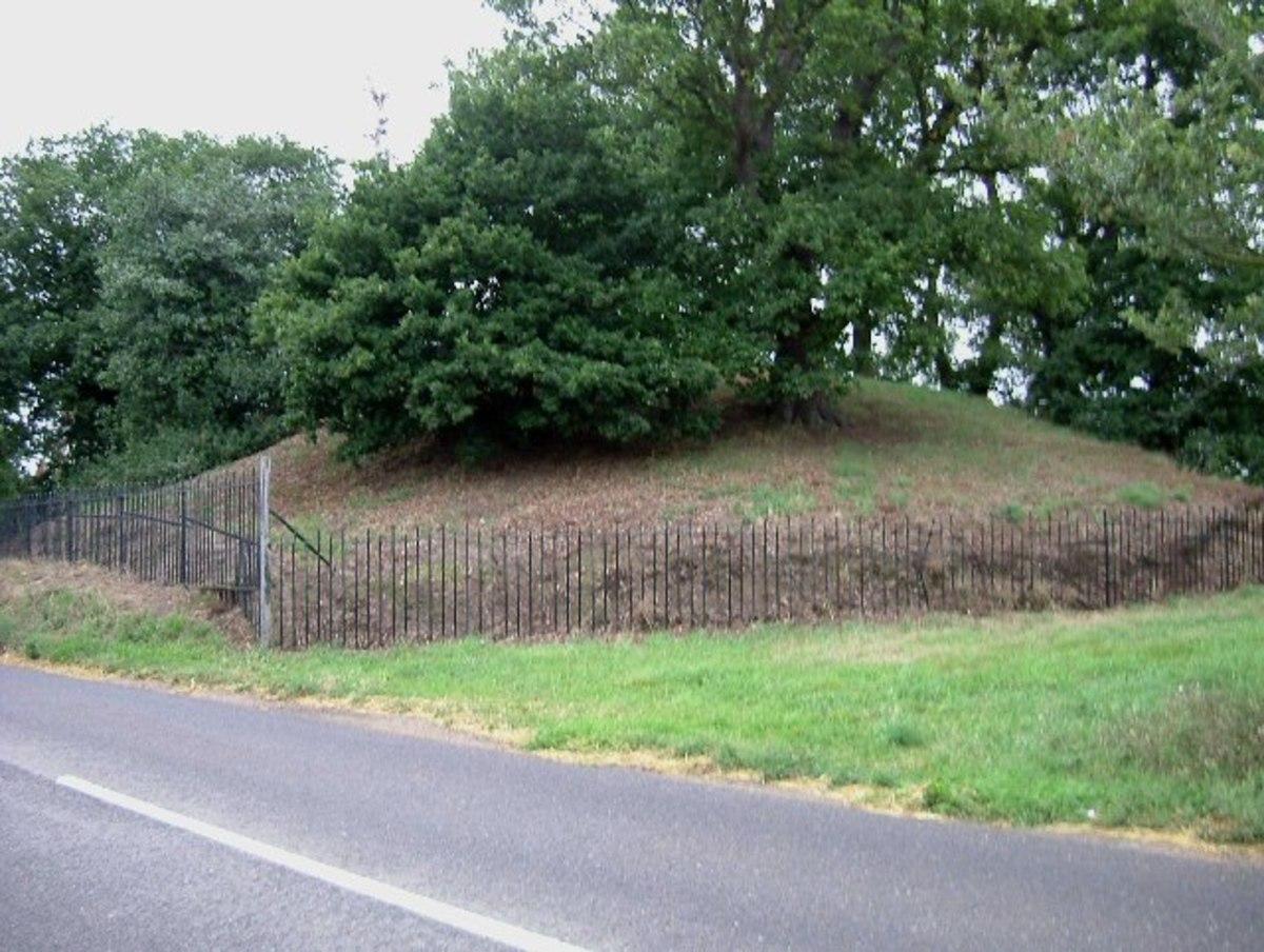 Mersea Island burial mound.