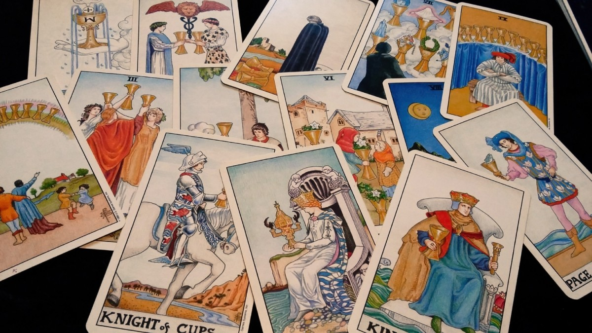 What do Cups tell me about money or finances in tarot?