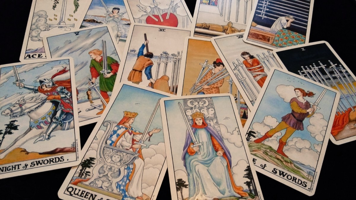 What do Swords tell me about money or finances in tarot?