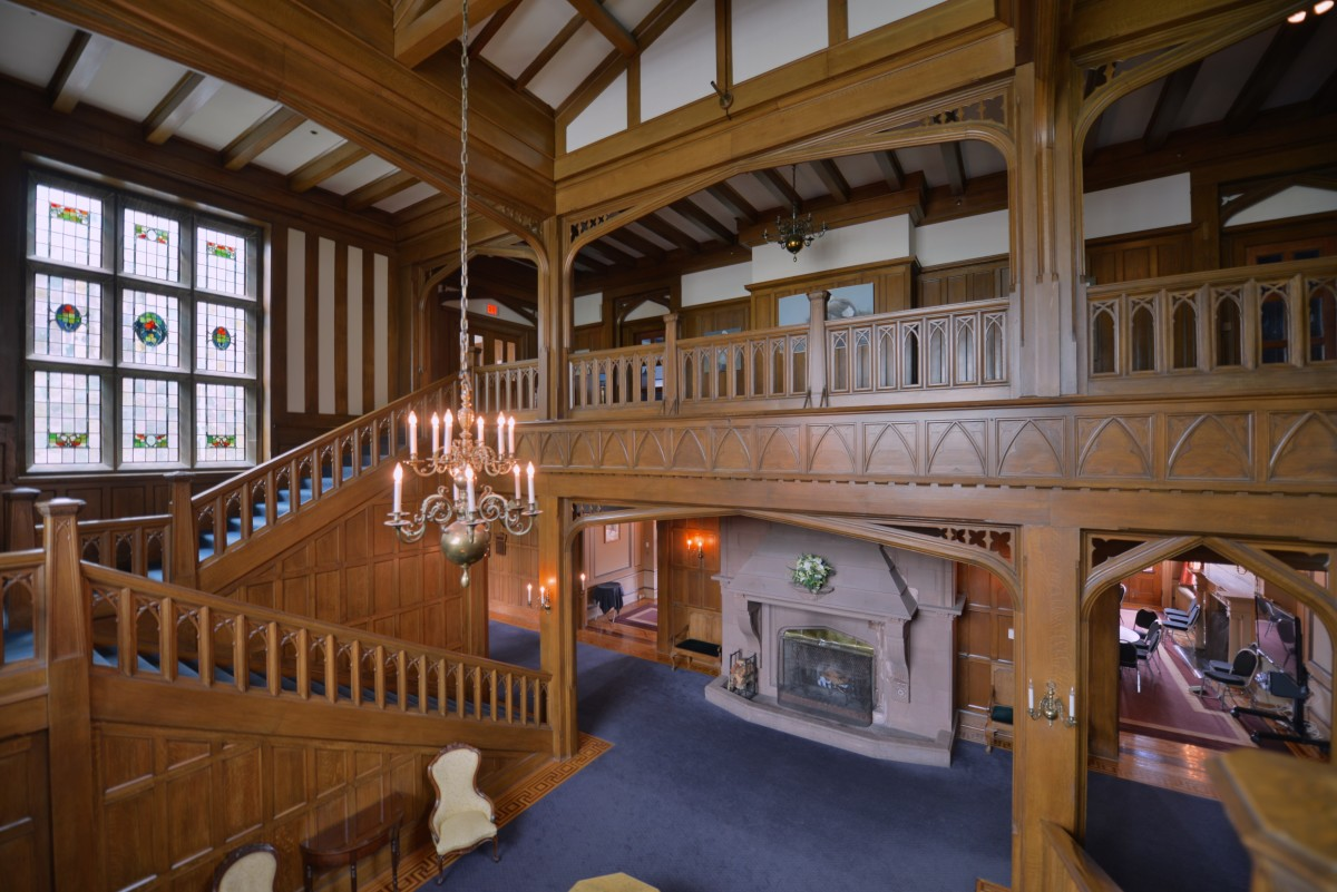 Main Hall of Hatley Castle
