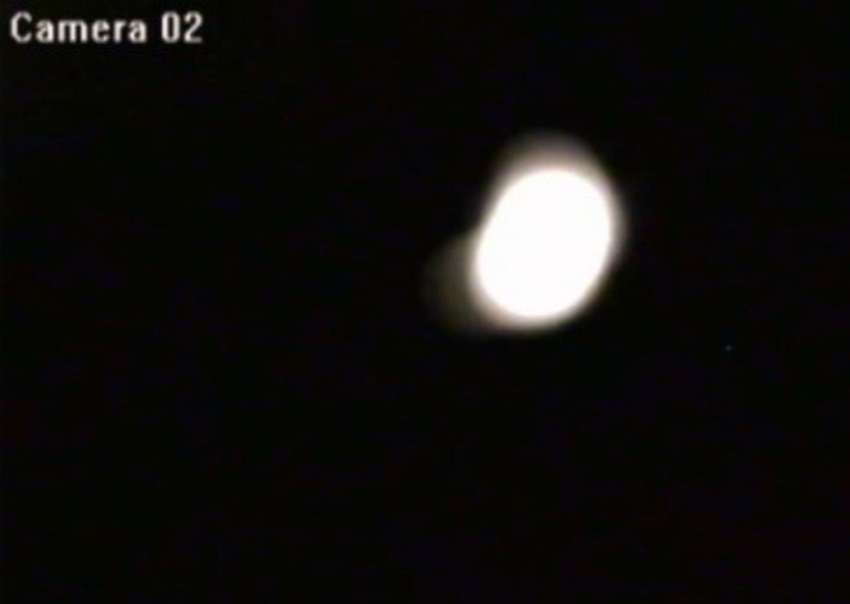 Alleged Image of the Ropen During Night Flight (First Seen on Destination Truth)