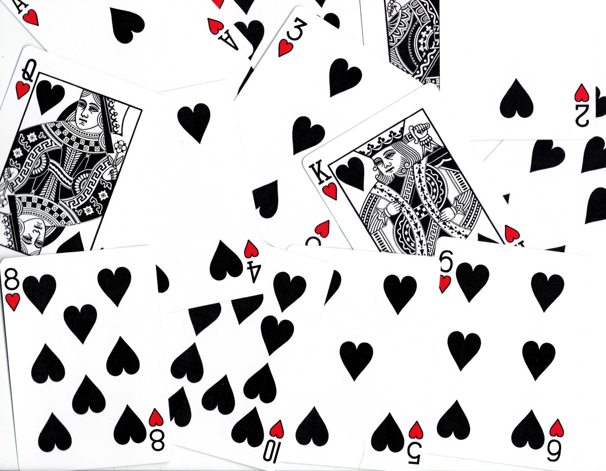 Playing Card Tarot Meanings: Hearts
