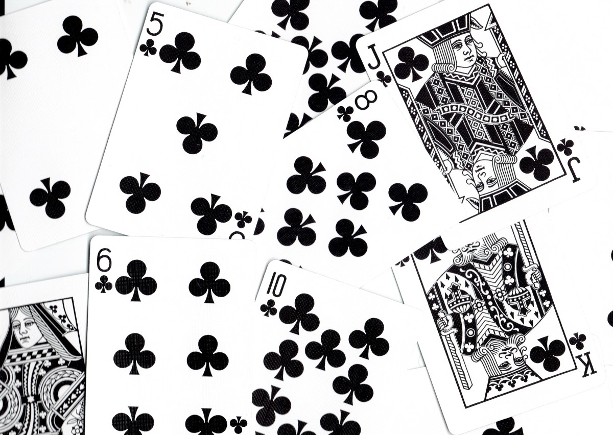 Playing Card Tarot Meanings: Clubs