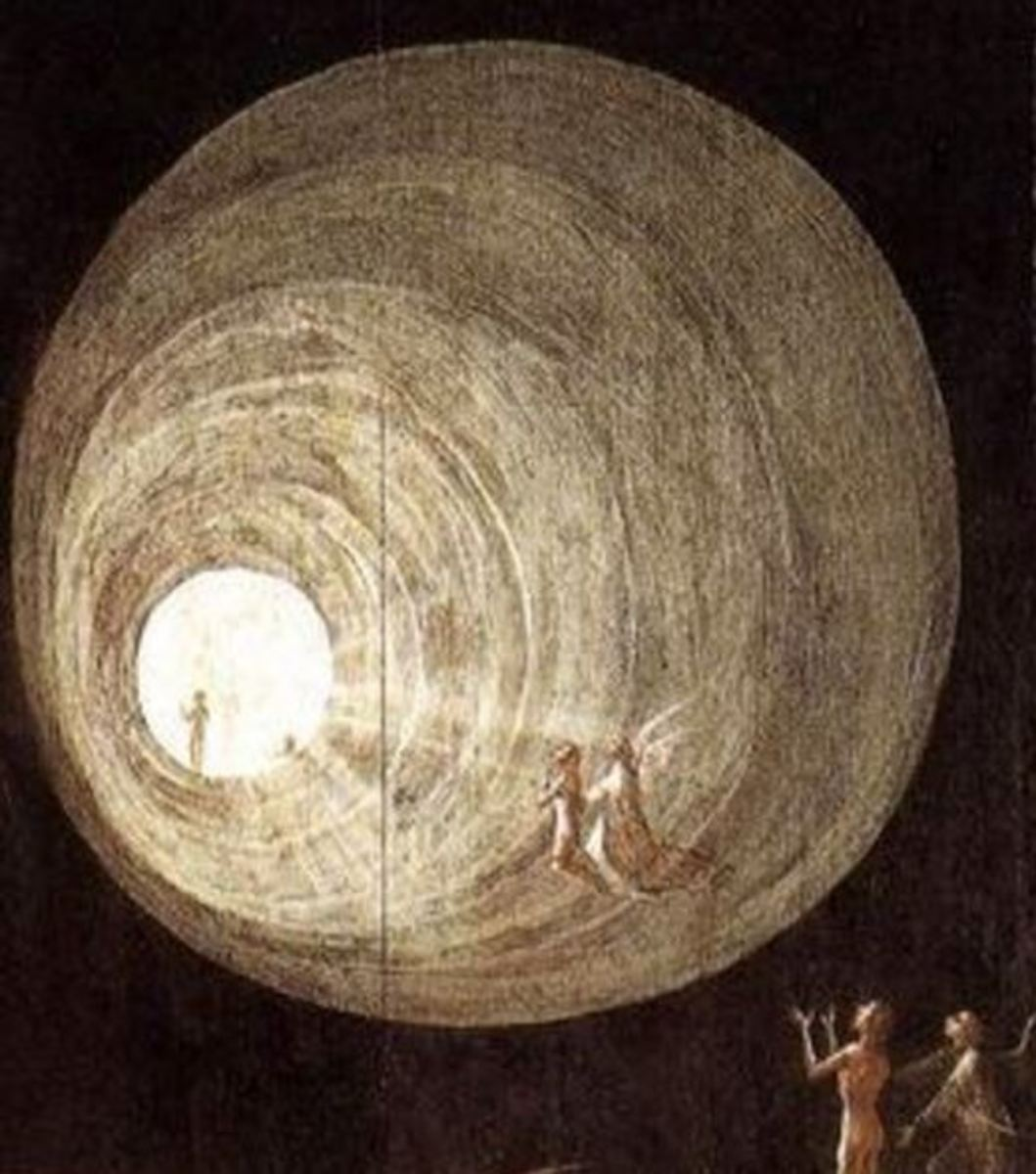 Ascent of the Blessed, by Hieronymus Bosch (1505-1515)