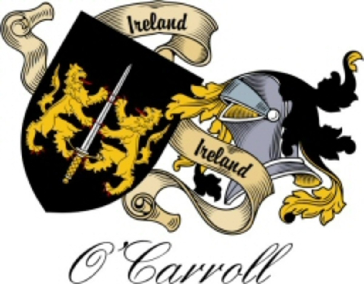The O'Carroll Family Crest