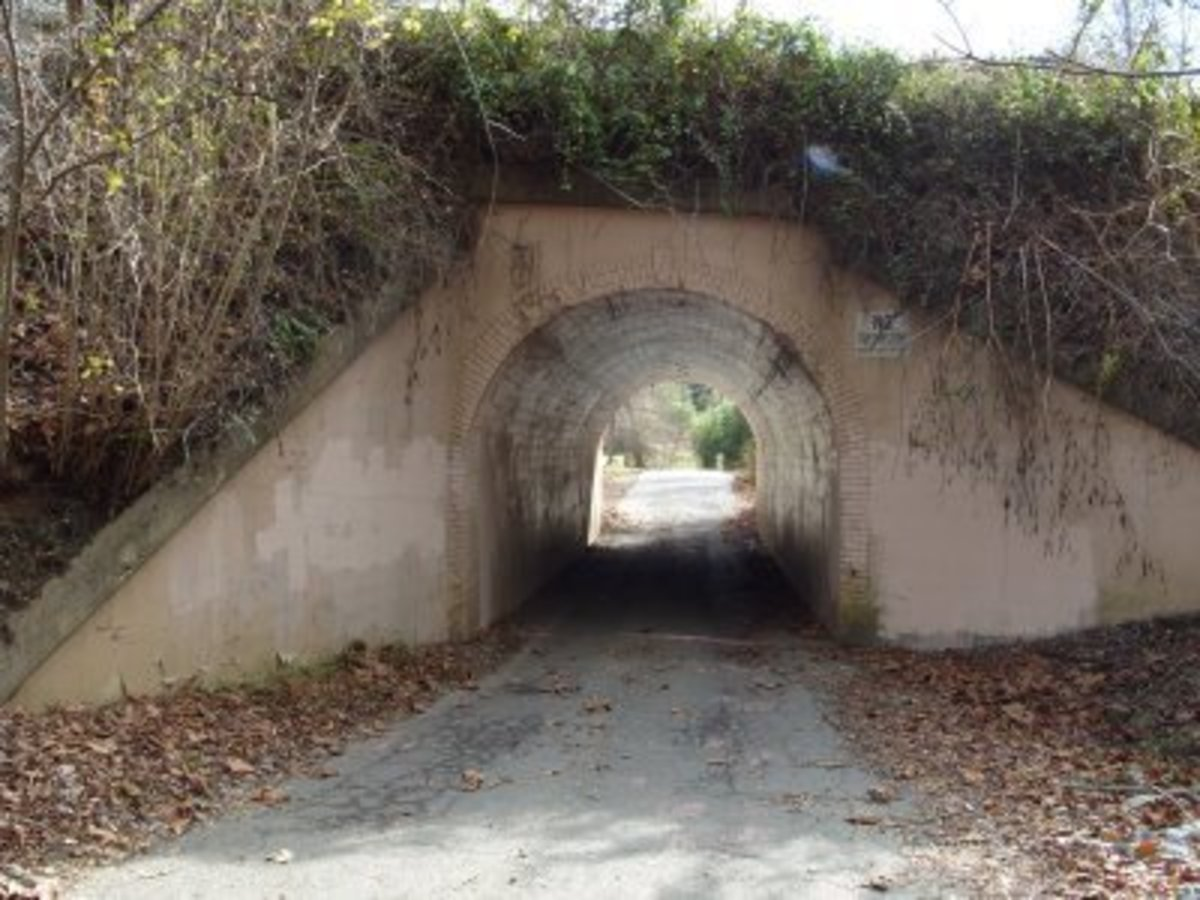The so-called Bunny Man Bridge.
