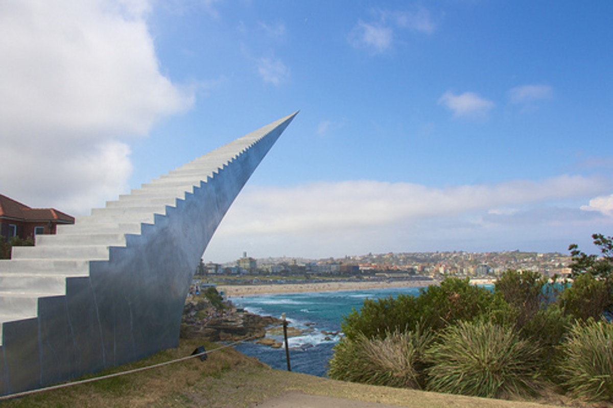 Stairway to Heaven is a sculpture at Bondi Beach, Sydney, Australia.