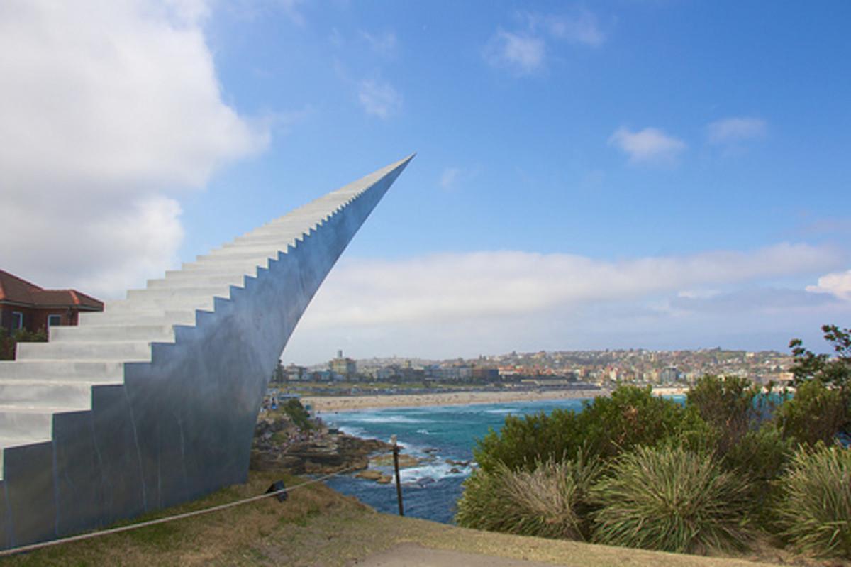 Stairway to Heaven is a sculpture at Bondi Beach, Sydney, Australia.
