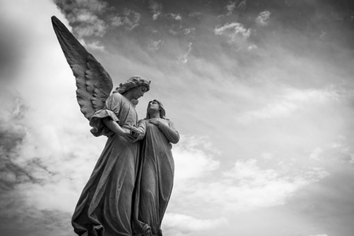 Some people believe that our guardian angel remains by our side from the moment of our birth until the hour of our death.