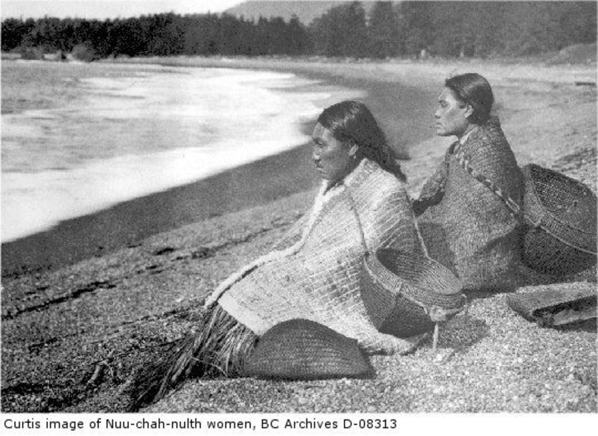 Nuu-chah-nulth, or 'Nootka' people