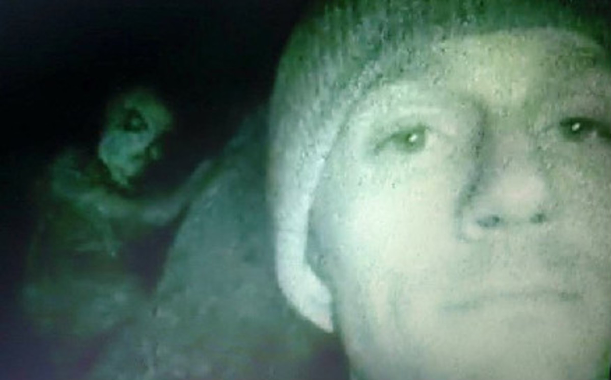 The Dover Demon as shown on Lost Tapes.