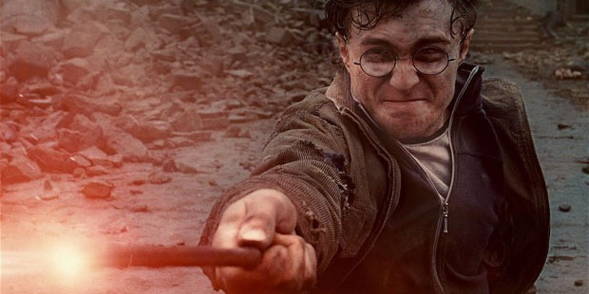 Harry Potter uses his magic training to perform spells which have telekinetic properties.