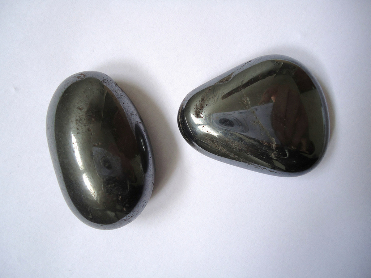 Hematite is an excellent grounding and protective crystal.