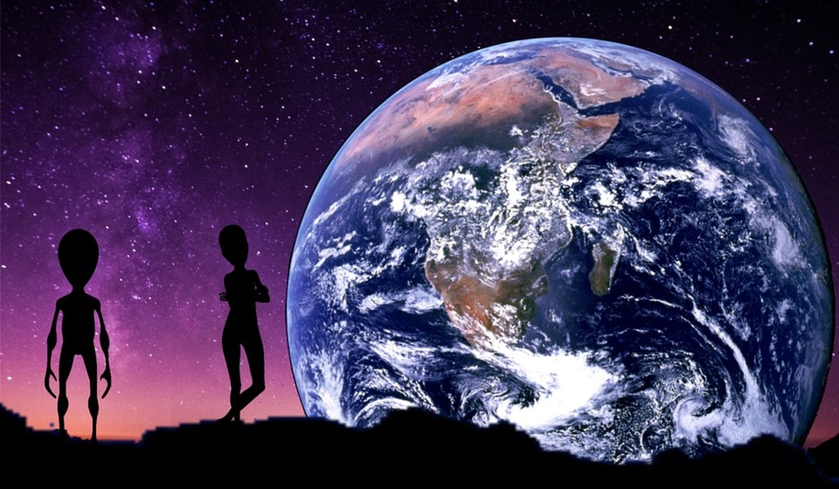Perhaps Earthlings have extraterrestrial origins.