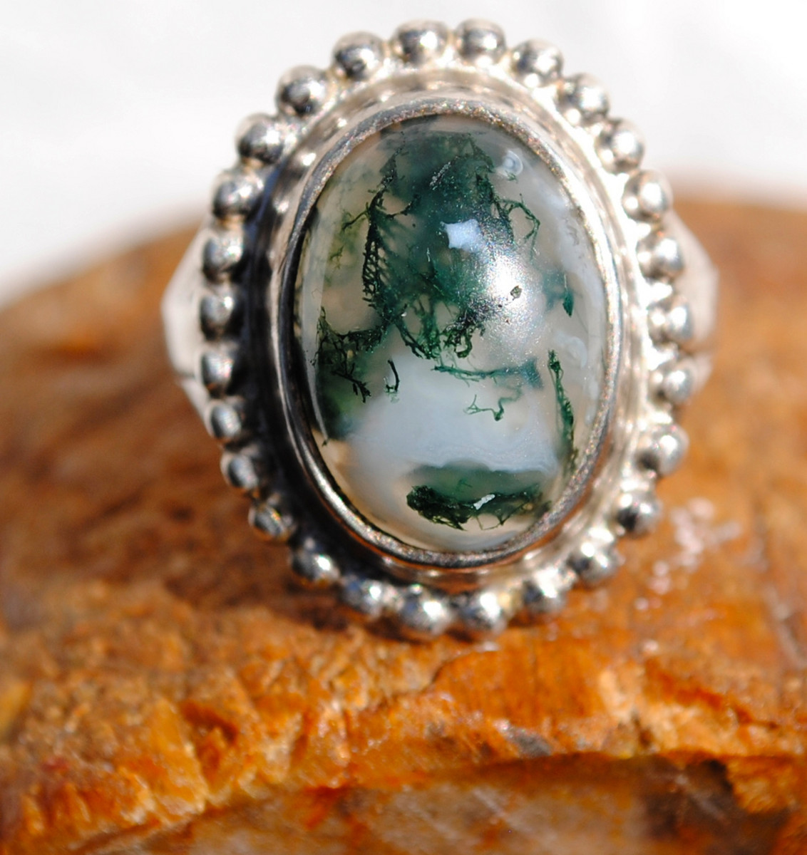 Moss agate is a great choice of crystal for gardeners or farmers.