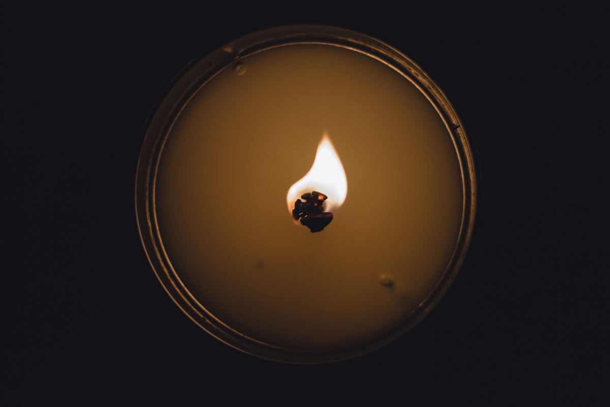 A large pillar candle used during the ritual can be relit prior to any opportunity for financial growth like a job interview or writing up a resume.