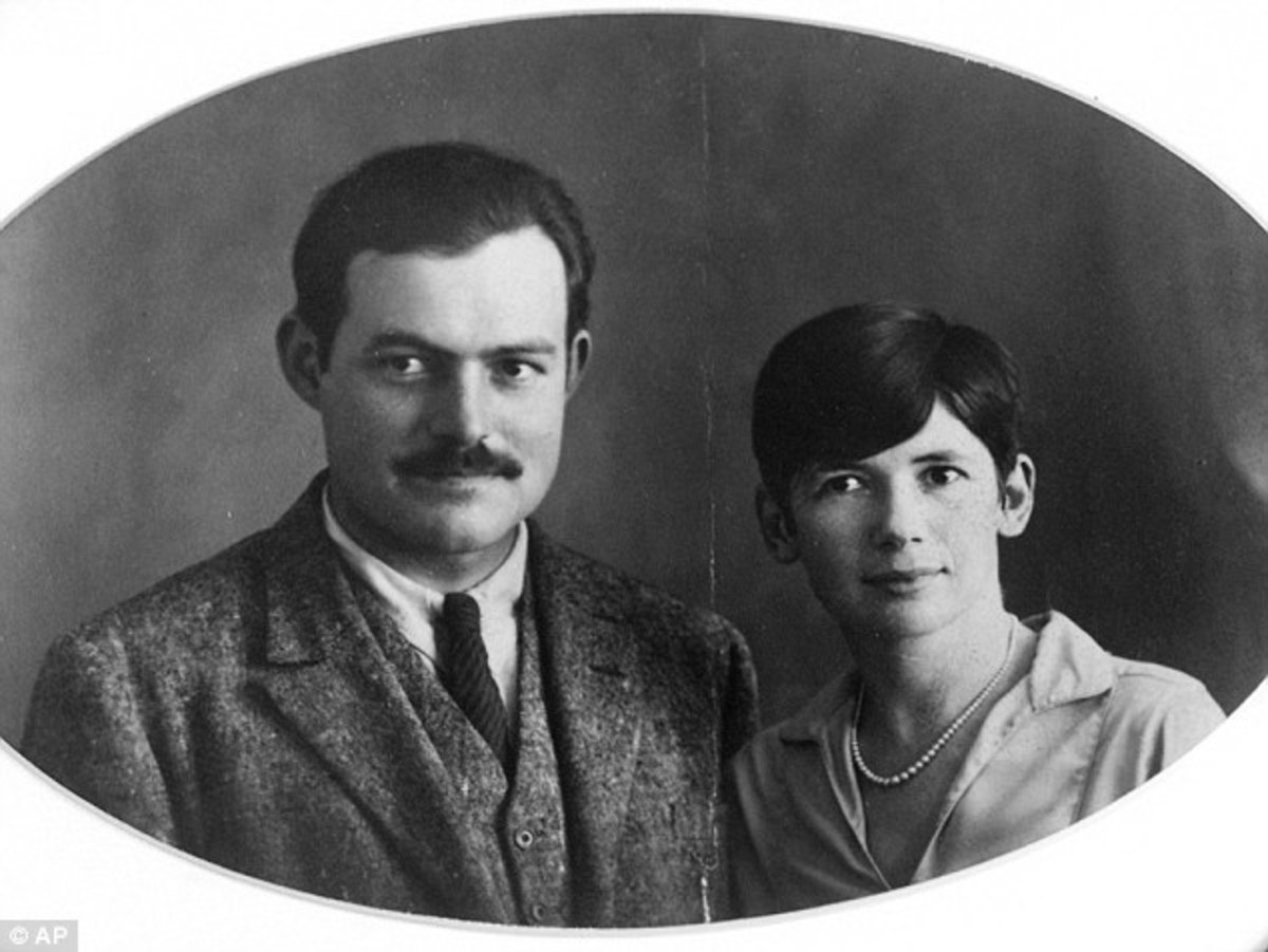 Ernest and Pauline on their wedding day.
