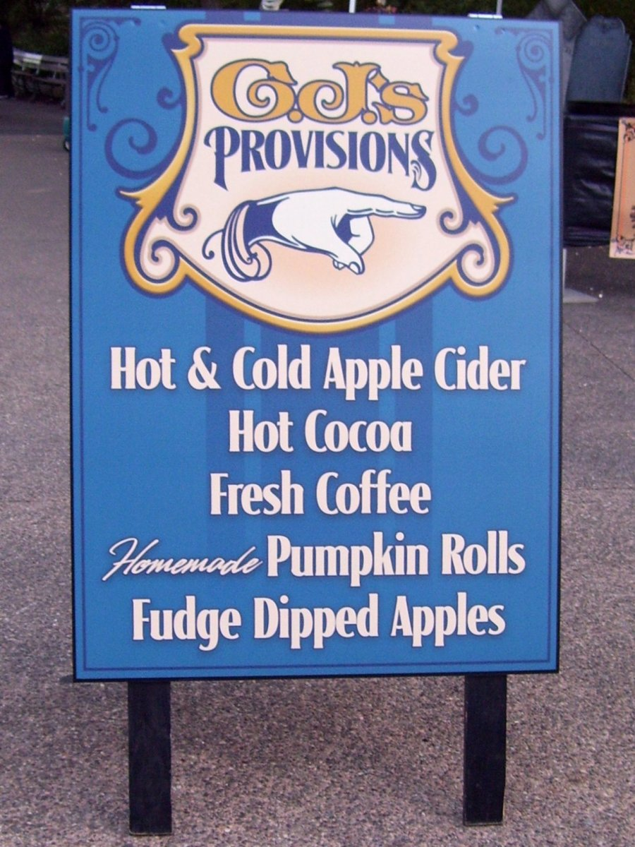 Sign for CJ's Provisions in Cedar Point