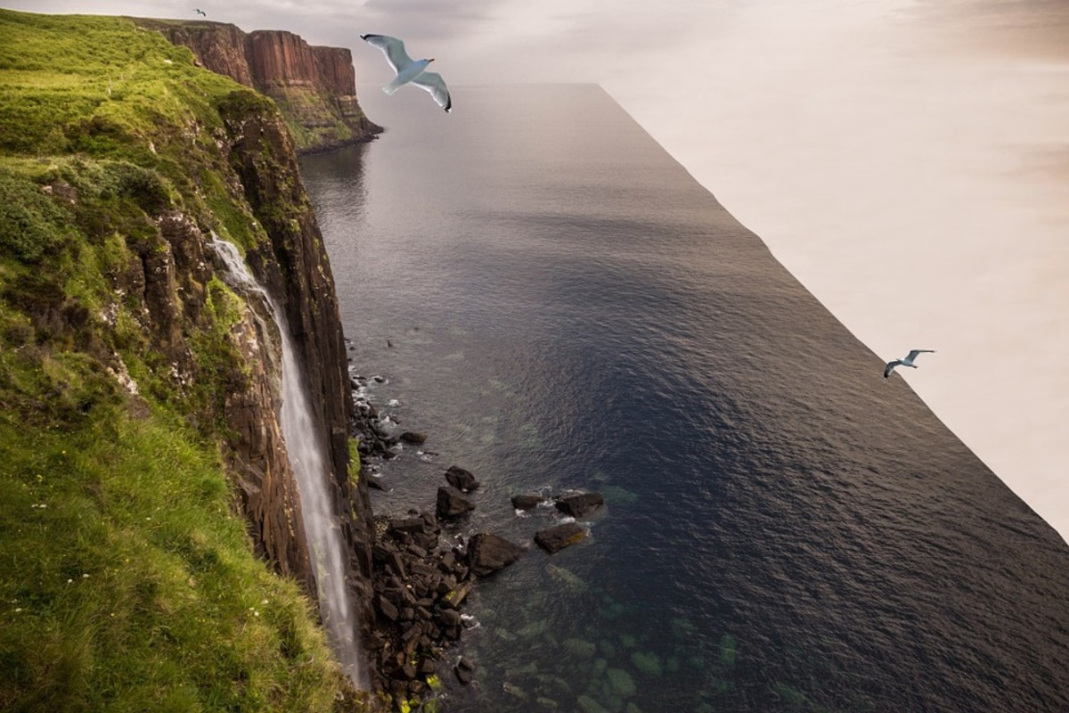 The edge of the world?