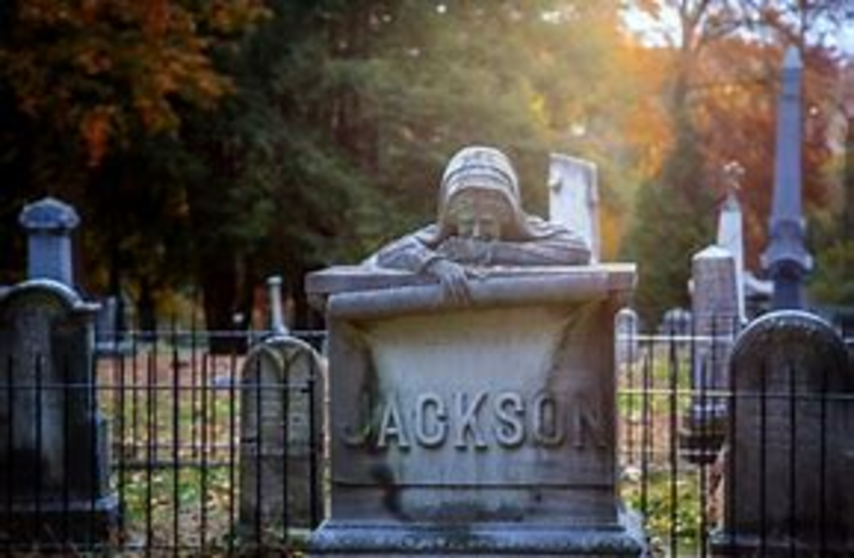 Riverview Cemetery in Parkersburg, West Virginia is said to be home to more than one restless spirit.