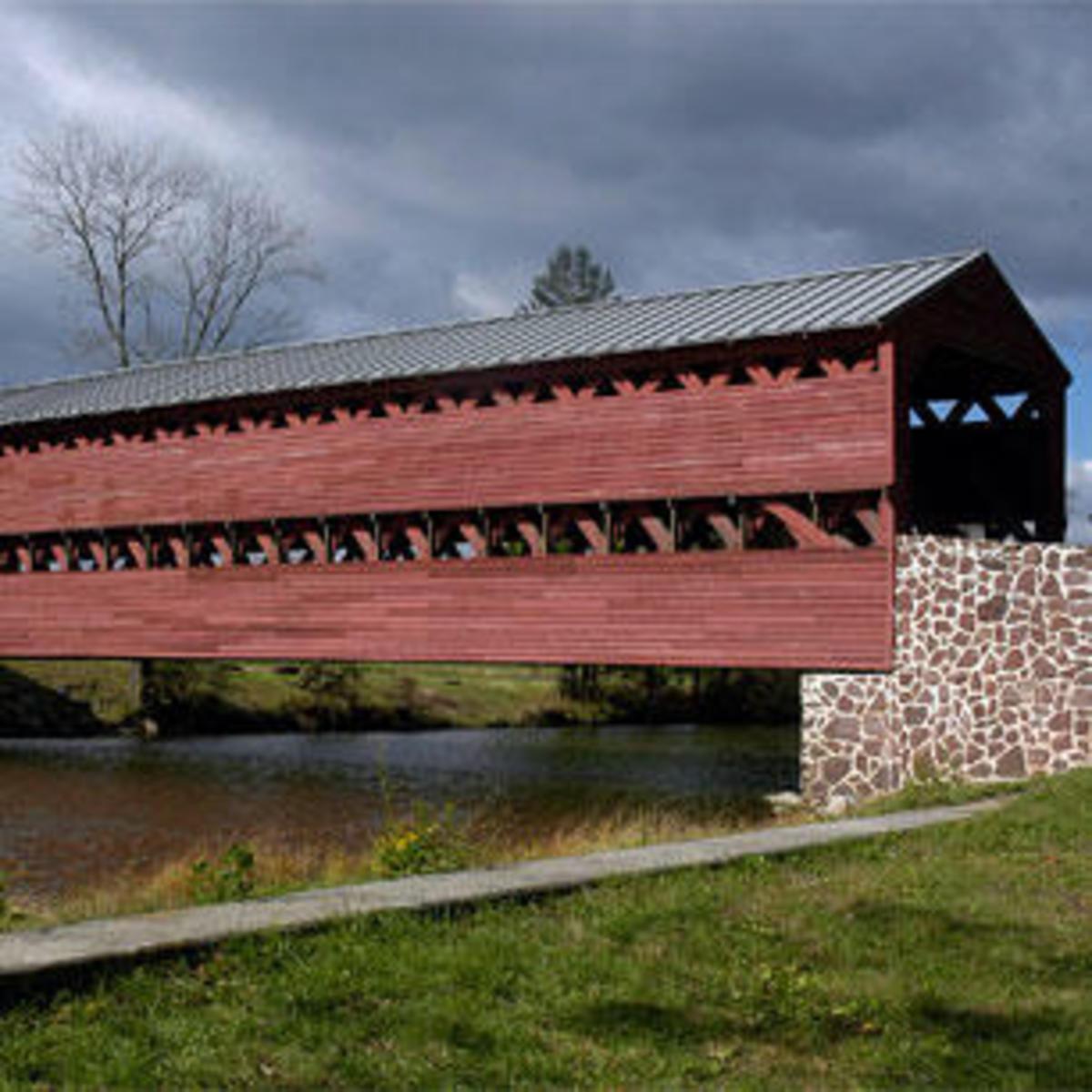 Sachs Covered Bridge in Gettysburg, PA