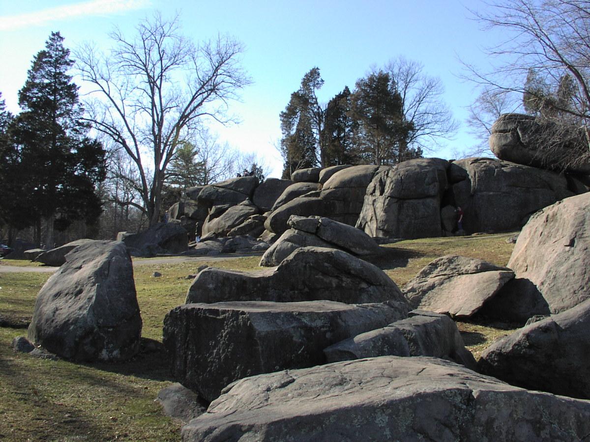 The rocks at Devil's Den