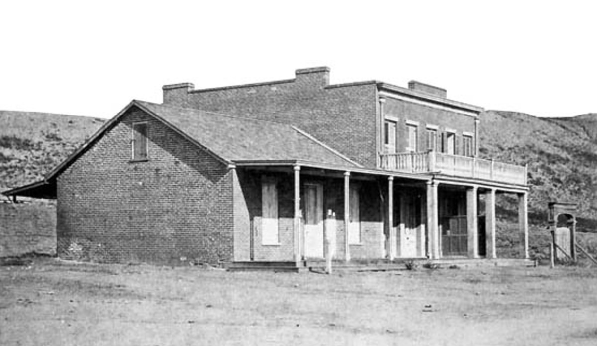 Vintage photo of the Whaley House