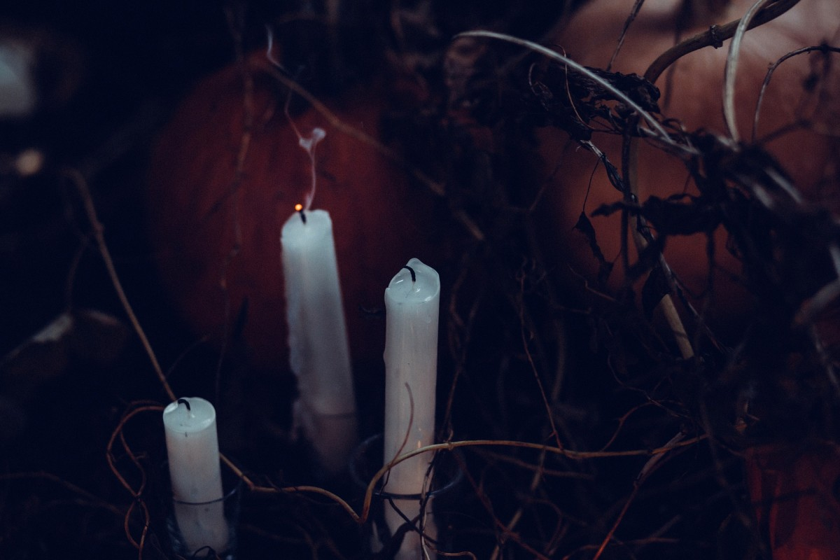Use candles to cleanse your house if you suspect demonic possession.
