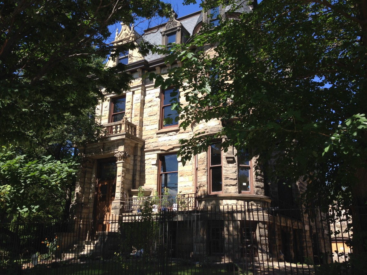 Hannes Tiedemann House, 4308 Franklin Boulevard Cleveland, Ohio. 7 September 2014.