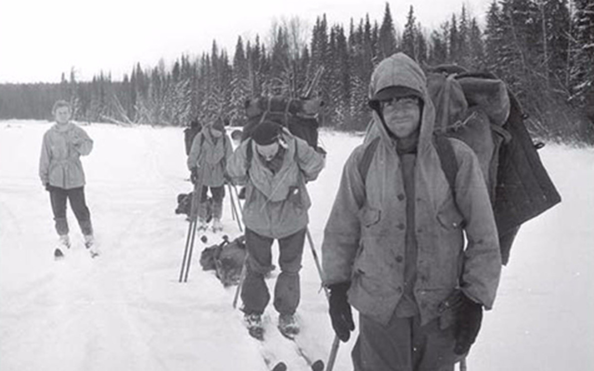 This is one of the photos taken by the group during their trek. (Photo from one of the cameras found at the scene.)