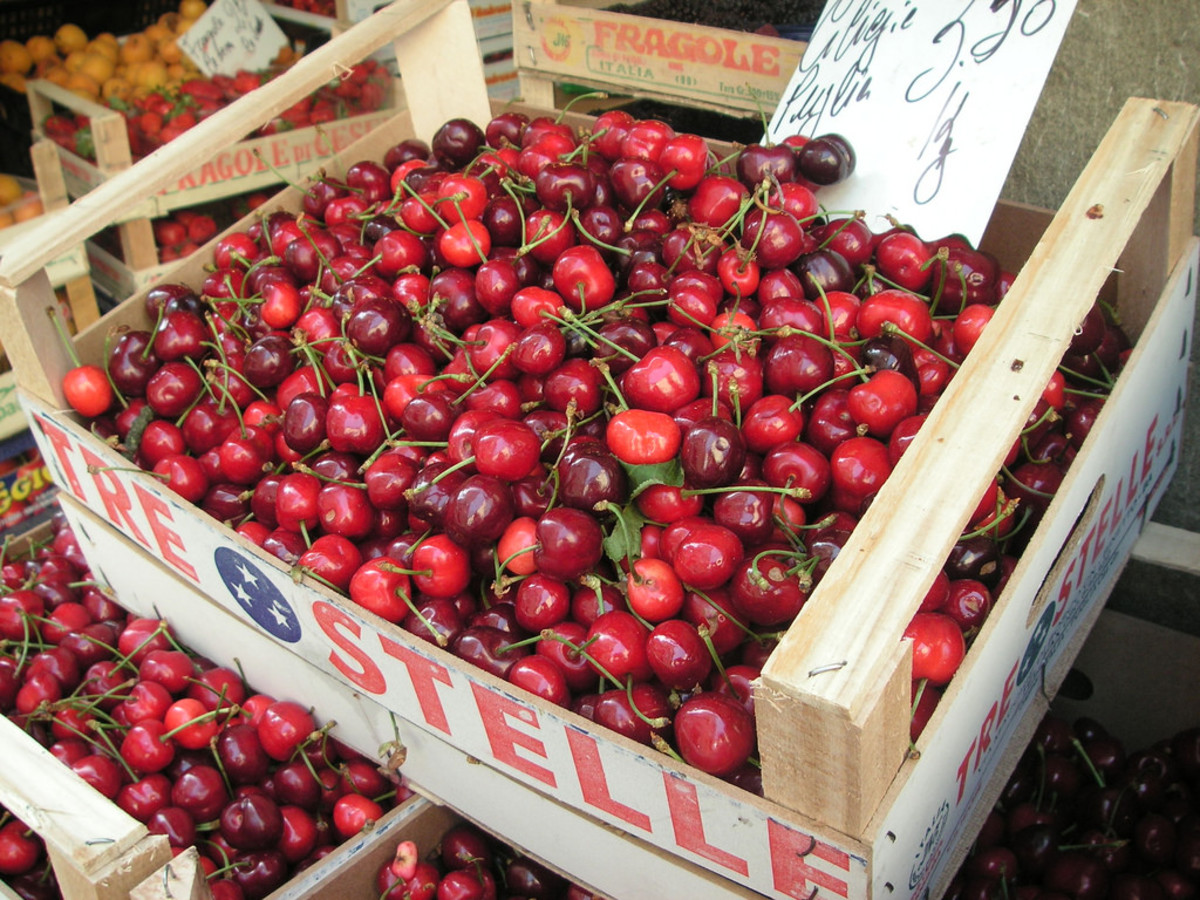 Cherries are delicious raw or cooked.
