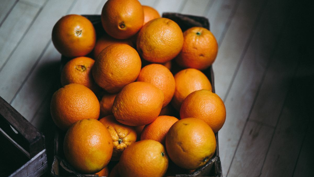 Oranges are often thought of as the fruit of the Sun.