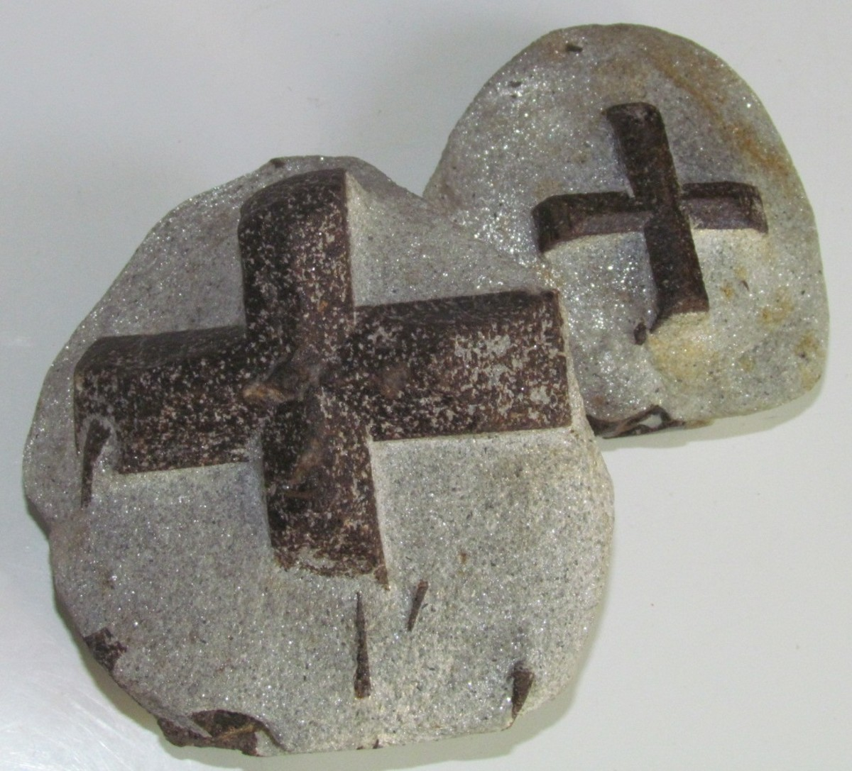 Staurolite is also known as the faery stone.