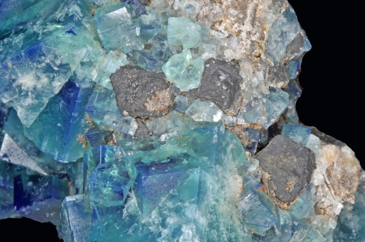Blue fluorite is great for working with the emotions.