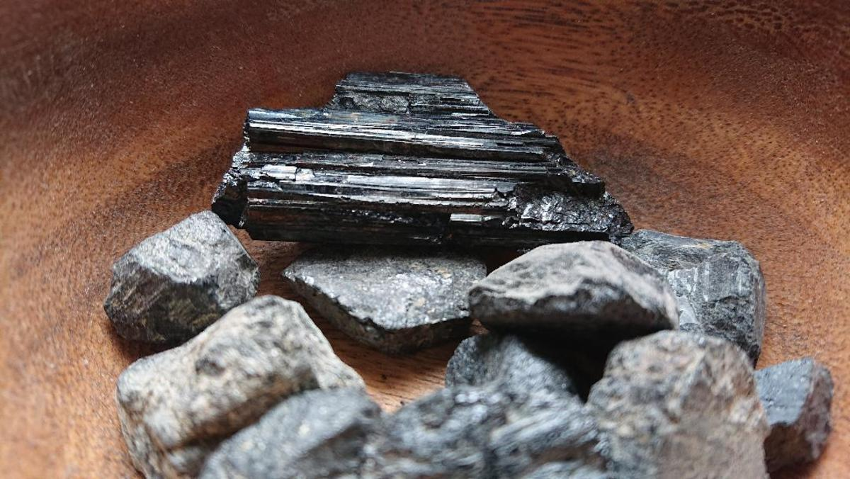Black tourmaline is a excellent all round protective crystal.