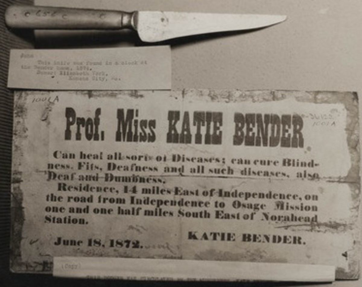 An ad for Katie Bender's services.